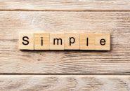 婚活で大事な「シンプル」という考え方