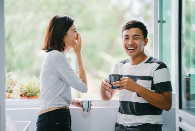「○○君と話してると面白い!」女性が興味のある話題『にゃんかん』