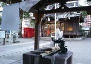 雨の長浜さまで縁結び祈願…大分県の風物詩・長浜神社